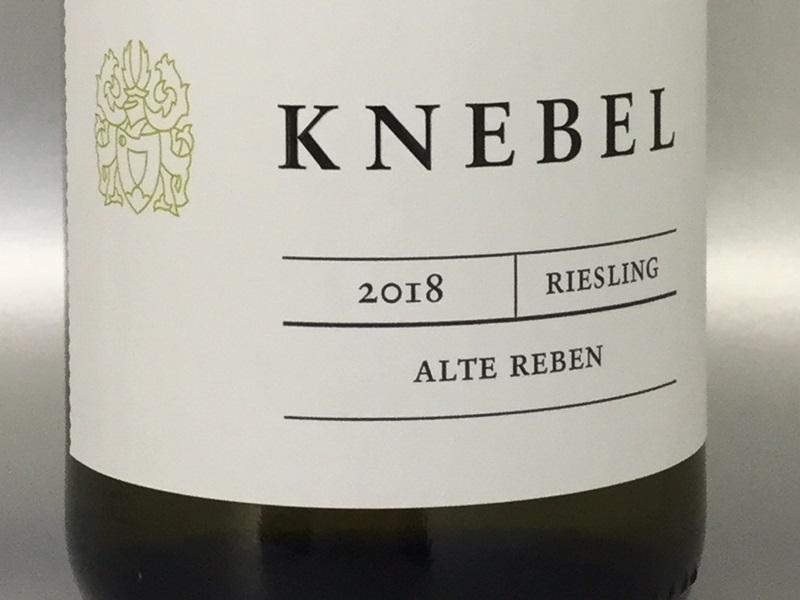 Knebel Riesling Alte Reben 2018