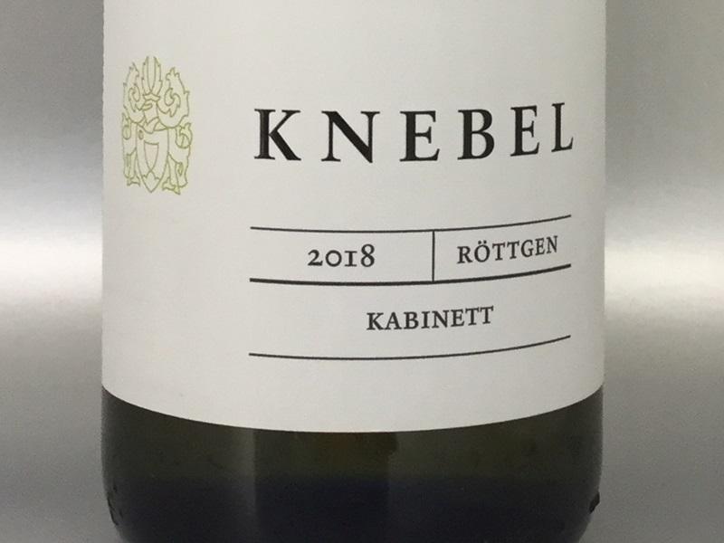 Knebel Riesling Kabinett 2018
